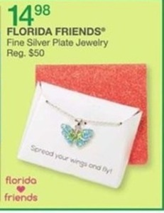Florida Friends Fine Silver Plated Jewelry
