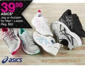 Asics Jog or Acclaim for Men & Ladies