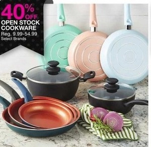 Select Open Stock Cookware