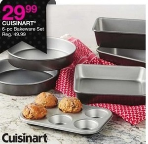 Cuisinart 6-pc Bakeware Set