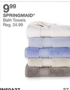 Springmaid Bath Towels