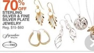 Sterling Silver & Fine Silver Plate Jewelry