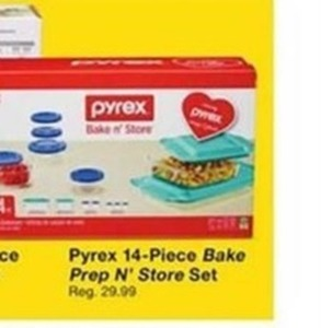 Pyrex 14-Pc. Bake Prep N' Store Set