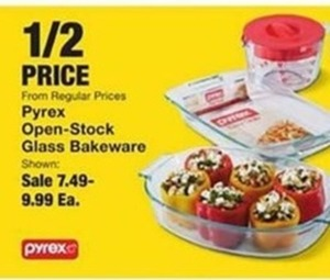 Pyrex Open-Stock Glass Bakeware