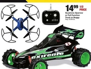 Quadrone Sparrow or Full Function Truck or Buggy