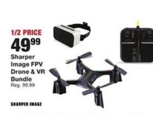 Sharper Image FPV Drone & VR Bundle