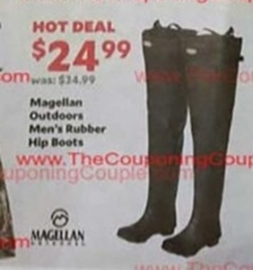 Men's Magellan Outdoor Rubber Hip Boots