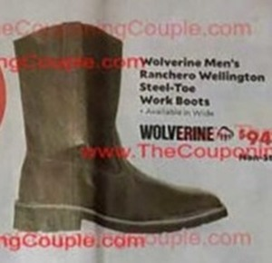 Wolverine Men's Ranchero Wellington Steel-Toe Work Boots