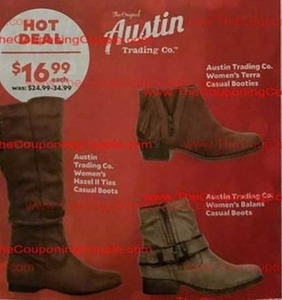 Austin Trading Co. Women' Hazel II Ties Casual Boots