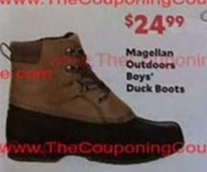 Boys' Magellan Outdoor Duck Boots