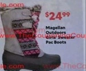 Magellan Outdoors Girls Sweater Pac Boots