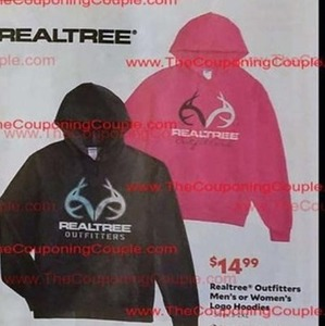 Men's or Women's Realtree Outfitters Logo Hoodies