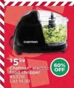 Chefman Electric Food Chopper