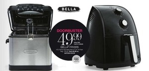 Bella Fryers After Rebate