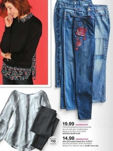 Fashion Jeans by Gloria Vanderbilt, Hannah, Earl Jean and Bandolino