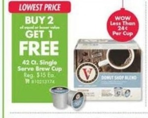 42 ct Single Serve Brew Cup