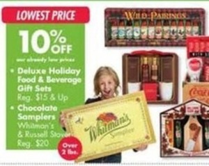 Deluxe Holiday Food & Beverage Gift Sets & Chocolate Samplers