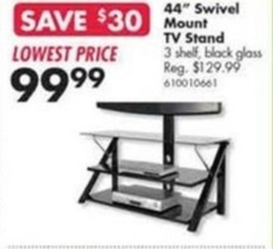 "44"" Swivel Mount TV Stand"