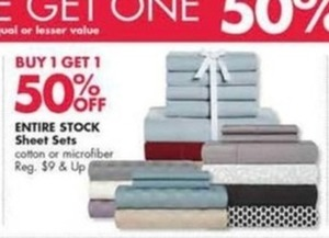 Entire Stock Sheet Sets