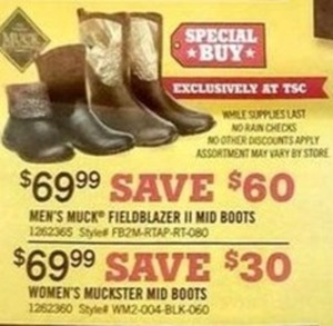 Select Men's & Women's Muck Boots
