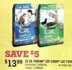 Purina 22 Lb. Cat Chow