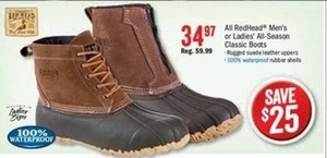 RedHead Women's All-Season Classic Boots