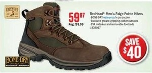 RedHead Men's Ridge Pointe Hikers