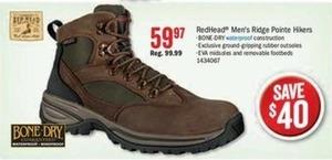 RedHead Men's Ridge Pointe Hikers
