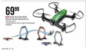 World Tech Elite Rezo Remote Control Racing Drone