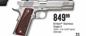 Kimber Stainless Target II
