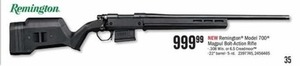Remington Model 700 Magpul Bolt-Action Rifle