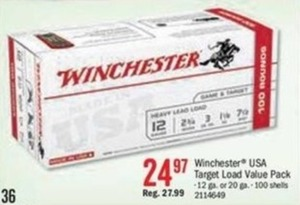 Winchester USA Target Load Value Pack