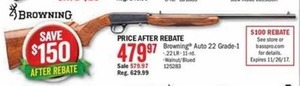 Browning Auto 22 Grade-1 (After Rebate)