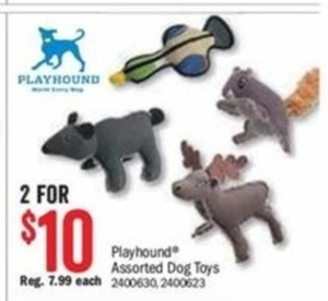 Play hound Assorted Dog Toys