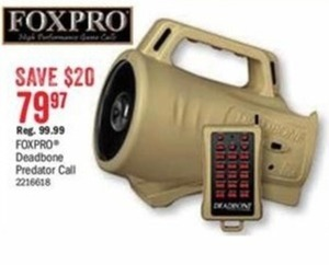 FoxPro Deadbone Predator Call
