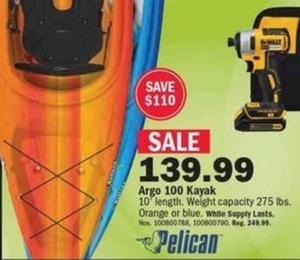 Argo 100 Kayak