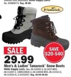 Ladies' Tamarack Snow Boots