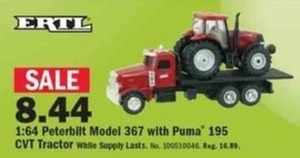 1:64 Peterbilt Model 367 w/ Puma 195