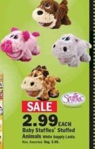 Baby Stuffies Animals