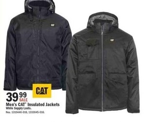CAT Men's Insulated Jacket