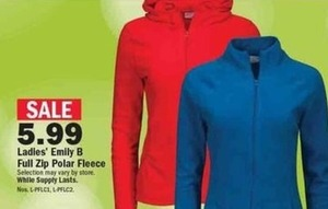 Ladies' Emily B Full Zip Polar Fleece