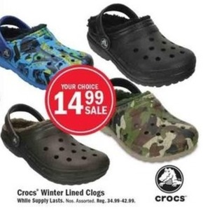 Crocs Winter Lined Clogs