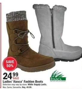 Ladies Itasca Fashion Boots