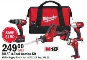 M18 4-Tool Combo Kit