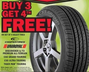 Set of 4 Select Tires