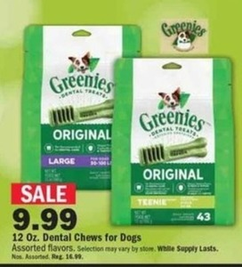 12oz Dental Chews for Dogs