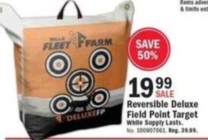 Reversible Deluxe FIeld Point Target