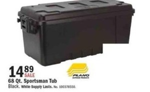 Plano 68-Qt. Sportsman Tub