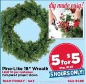 "Pine Like 18"" Wreath"