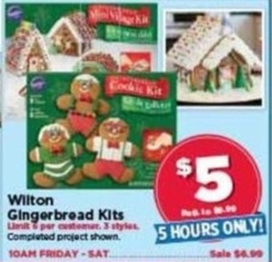 Wilton Gingerbread Kits